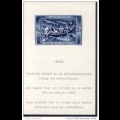 Timbre Suisse Bloc n°21 Don Suisse 1945 N**