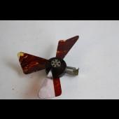 Ventilateur mécanique de poche Carlo celluloïd Allemagne