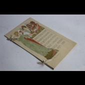 Programme 25ème anniversaire Union postale Berne lithographie MUNGER