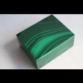Boîte à bijoux en malachite