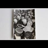 Photo Charlie Chaplin à Orly 1952 Universal photo