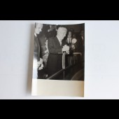 """Photo Charlie Chaplin """"Limelight"""" Biarritz cinéma Paris 1952"""