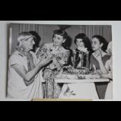 Photo danseuse Janine Solane et Raymond DUNCAN 1953 Éclair mondial