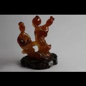 Sculpture en cornaline femmes Guanshiyin Chine Bouddhisme