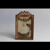 Cadre porte-photo Napoleon III angelots
