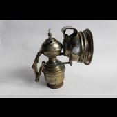 Lampe à acétylène (ou lampe à carbure) pour velo ou moto
