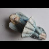 Bénitier porcelaine ange