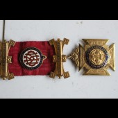 Médaille décoration The Royal Antediluvian Order of Buffaloes (RAOB)