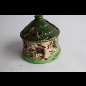 Ancienne tirelire céramique ruche