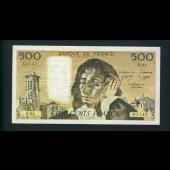 Billet 500 Francs PASCAL 4-11-1976.C. N.64 61145