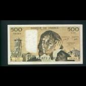 Billet 500 Francs PASCAL 3-11-1977.B. C.75  56385