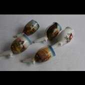 Anciennes pipes en porcelaine