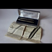 Coffret stylo bille + porte-mine Caran d'Ache Wagons-lits/Cook