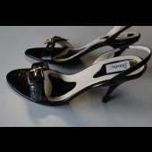 Chaussures femme DASLU cuir noir