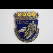 Insigne automobile moto DKWV club verband 1958