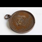 Médaille Congres International de la Paix. Genève 1867 Garibaldi maçonnique