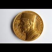 Grande médaille Mémorial du Général De Gaulle par Albert de JAEGER