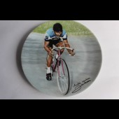 Assiette Limoges champion cycliste Tour de France Poulidor