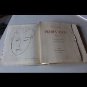 "Henri MATISSE lithographie originale "" Pierres Levées "" 1948"