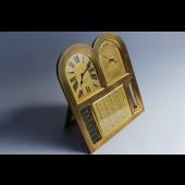 Baromètre pendule thermomètre calendrier Genève