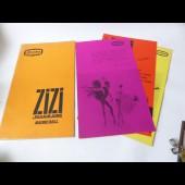 Programme de l'Alhambra Maurice Chevalier ZIZI JEANMAIRE