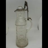 Ancienne carafe à bière Allemagne gnome nain