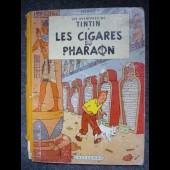 BD Tintin Hergé - Les Cigares du Pharaon - B14 - 1955