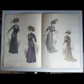 Grande Gravure Accessoires de Mode Femme 1908 Toilette