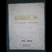 Revue Inspirations d'avant saison Eté 1949 Mode