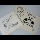 Dessin A. RUFFIEUX Tabac Weber