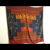 Grand foulard soie épaisse LANVIN