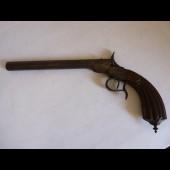 Pistolet de salon XIXème siècle