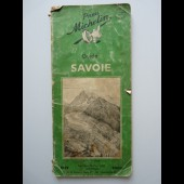 Guide Michelin France SAVOIE 1949