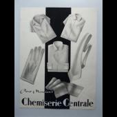 Dessin A. RUFFIEUX Chemiserie Centrale