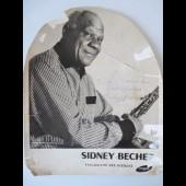 Photo Autographe dédicace Sidney BECHET