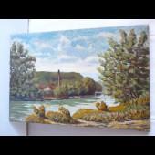 Tableau Peinture sur Toile Suisse Firmenich Arve