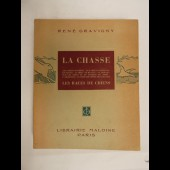 Livre La Chasse René GRAVIGNY Races de chiens 1949