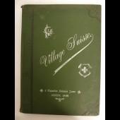 Livre Le village Suisse. Exposition Nationale Suisse 1896 Boissonnas