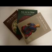 Livre Arts de la Chine 3 Volumes Or Argent Bronze Ivoire