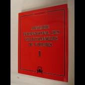Livre Annuaire International des collectionneurs de Voitures Automobile