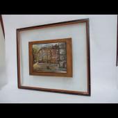 Tableau Peinture sur Cuivre Art Moderne