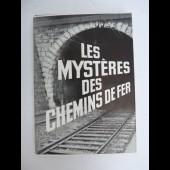 Livre Les Mystères Des Chemins De Fer Train
