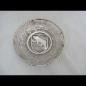 Vide poche Verre Décor argent Berne Suisse