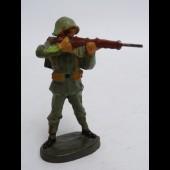 Soldat ELASTOLIN Tireur debout Militaire