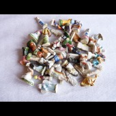Lot de 47 fèves porcelaine anciennes