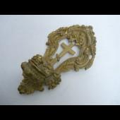 Ancien  bénitier bronze