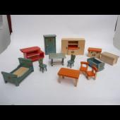 Mobilier de maison de poupées