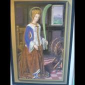 Gravure les Grandes Heures d Anne de Bretagne