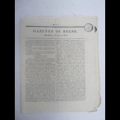 Journal Gazette de Berne n°74 de 1816