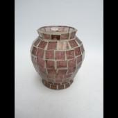 Vase Verre Mosaïque